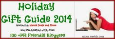 Holiday Gift Guide 2014 for Bloggers - Just Another Mom #HolidayGiftGuide100Bloggers