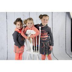 Quapi COOTJE Orange Quapi winter collectie 2015 maat 92 t. 164 #vipkidz #Girls #Quapi #wintercollectie2015 #Fashion #online #snelle verzending