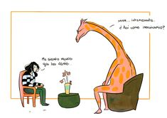 La jirafa psicóloga – The unspoken truth Psycho Humor, Cute Phrases, Pink Giraffe, Just Girly Things, Words Quotes, Psychology, Bubbles, Pure Products, Funny Stuff