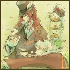 Mad Hatter & March Hare
