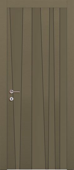 Pattern on door l, could be a real standout with a change of colour/material (Corten?)