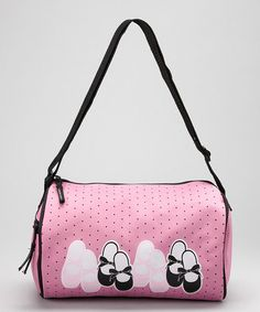 Take a look at this Pink Tap & Toe Duffel Bag by Horizon Dance on #zulily today!
