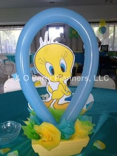 Baby Looney Tunes Baby Shower | CatchMyParty.com