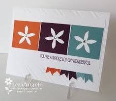 flower patch stampin up scrapbook page layout - Google Search