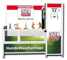 New Dog Wash design for Fressnapf Germany.