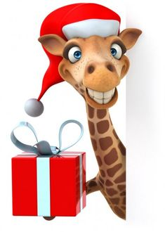 Cute Animal Drawings, Cute Animal Pictures, Colorful Pictures, Giraffe Painting, Giraffe Art, Animals And Pets, Funny Animals, Cute Animals, Christmas Cards To Make
