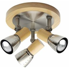 Deckenleuchte 3-flammig Juno Jetzt bestellen unter: https://moebel.ladendirekt.de/lampen/deckenleuchten/deckenlampen/?uid=a1eb4366-5cc5-53c3-958a-b7bf1ce90880&utm_source=pinterest&utm_medium=pin&utm_campaign=boards #deckenleuchten #lampen #deckenlampen