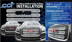 IWCGI116 fits 2013-2014 GMC Acadia. Call us today 800-999-8987