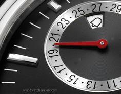 The new Glashütte Original Senator Diary automatic watch features a lovely alarm clock complication