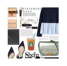 """WORK and FUN"" by tamarasimic ❤ liked on Polyvore featuring Marni, MAC Cosmetics, Bobbi Brown Cosmetics, Paul Andrew, Incase and shein"