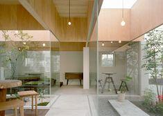 Hiroyuki Shinozaki Architects - atrium