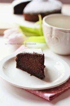 La ricetta della felicità: Torta No-Stress al cacao facile, veloce, sofficissima e light (senza latte, senza burro, senza uova, senza mixer o planetaria)!