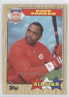 1987 Topps #600 - Dave Parker AS