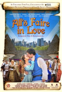 All's Faire in Love-Part of the audience when they have a contest of sorts on stage