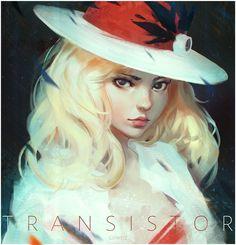 Sybil from Transistor by GUWEIZ