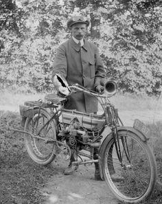 Douglas motorfiets, ± 1911