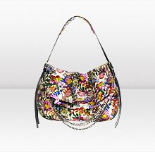 Floral Printed Python Bag by Jimmy Choo. New in stunning floral printed python, the BIKER bag will add rock 'n roll attitude to any look. Juicy Couture Handbags, Purses And Handbags, Jimmy Choo, Metal Letters, Little Bag, Fashion Company, Evening Bags, Fashion Bags, Bucket Bag