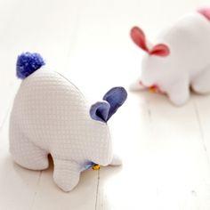 Woven bunny - Busatti
