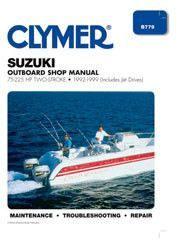 1990 2001 johnson evinrude outboard service manual 1 hp to 300 hp clymer b779 service manual for 1992 99 suzuki 75 225 2 stroke outboard motors i fandeluxe Gallery