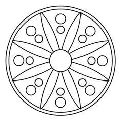 Stencils Mandala, Quilting Stencils, Mandala Painting, Dot Painting, Free Mosaic Patterns, Rangoli Patterns, Craft Patterns, Mandala Dots, Mandala Pattern