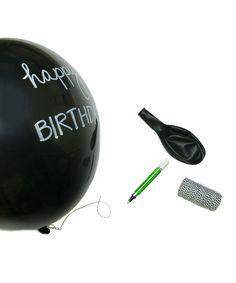Chalkboard Balloons