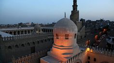 Amir Sarghatmish madrasa, mosque and mausoleum located in Saliba Street in Cairo. In fact, they are just behind Ibn Tulun mosque. Gayer Anderson