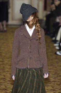 Junya Watanabe Comme Des Garcons Tweed Jacket AD2003 #CommedesGarcons #BasicJacket
