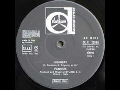 ▶ Famous - Highway (1983) - YouTube