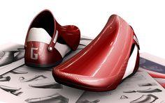'Ramon G-series' footwear design by Guo-Shiung Hung
