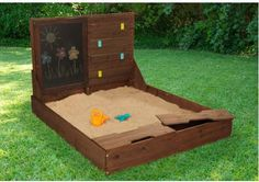 Kid Kraft Activity 4' Rectangular Sandbox