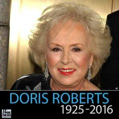 Doris Roberts (Remington Steele, Everybody loves Raymond) She'll be missed...