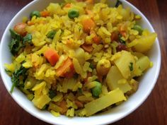 Poha: Delicious, Wholesome Indian Snack Food | Indian As Apple Pie
