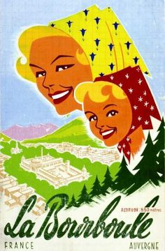 GORDE GASTON La Bourboule Auvergne Alt 850 mètres Gouache Vers 1960GORDE GASTONGouache / Gouach B.E. B + déchirures et manque / tears & missing paper40 x 24,5 cm - Art Richelieu - 21/03/2015