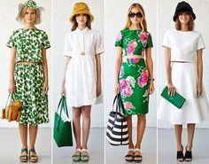 Bu yaz çiçekli elbiselerle 70'li yılların nostalji rüzgarları esecek.