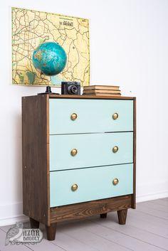 Milk Paint, Modern Dresser, Dresser As Nightstand, Furniture Makeover, Wood Projects, Decoupage, Cool Stuff, Diy Stuff, Owl