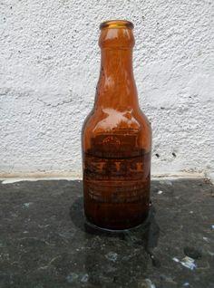 0,25 detalle trasero del cuartillo de cervezas EL LEÓN