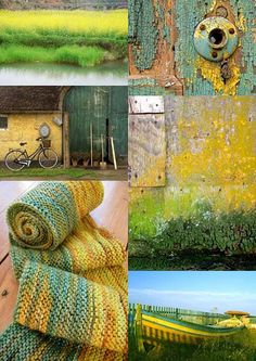 Green & Yellow [Friday Flickr Photo Collage] | Flickr - Photo Sharing!