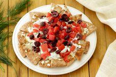 Hungry Girl's Healthy Go Greek Pita Chip Nachos Recipe