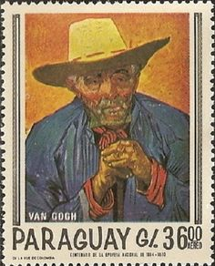 COLLECTION~Postage Stamp. Van Gogh - Parguay