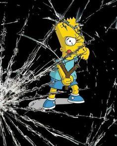 "=》""Qué has hecho Bart"" 🤦🏻♂️ Mickey Mouse Wallpaper Iphone, Simpson Wallpaper Iphone, Funny Iphone Wallpaper, Apple Wallpaper Iphone, Locked Wallpaper, Funny Wallpapers, Disney Wallpaper, Cartoon Wallpaper, Graffiti Wallpaper"