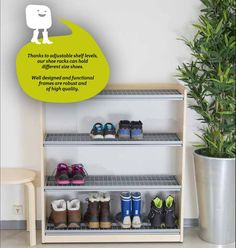 Jamito shoe racks are designed for extreme conditions. Our products make functional, reliable and high quality solutions for vestibules, corridors and lobbies. Ongoing domestic product development is based on people's daily needs. We have helped to sort out hundreds of thousands of shoes, coats, hats and mittens. www.jamito.fi #shoerack #shoeshelf #skoställning #skohylla