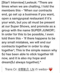 Leeteuk :'(((( #superjunior #kpop Leeteuk is the BEST LEADER EVER!!!!!!! SJ FIGHTING!!!!!! ♡♡♡