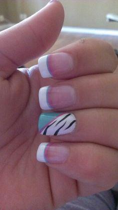 zebra styles nail art for 2016