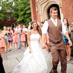 Casual Wedding Ceremony | Casual Outdoor Wedding in Richmond, VA