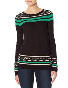 Patterned Sweater from THELIMITED.com