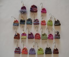 Mini Knitted Hat Ornaments | Flickr - Photo Sharing!