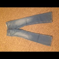 Zara women's light wash boot cut denim Sz 27 never worn light was women's collection denim Zara Jeans Boot Cut