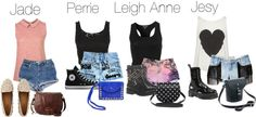 """Little Mix inspired outfit for a One Direction concert in the summer"" by littlemix-style ❤ liked on Polyvore"
