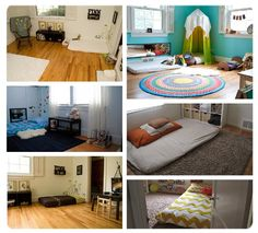 Montessori creía en la importancia de un ambiente sencillo y ordenado, con la cama a nivel del suelo y un mobiliario adaptado a la medida del niño. Aquí os dejamos algunas ideas para decorar vuestra habitación según la filosofía Montessori.  Esperamos que os gusten.