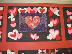 """""""Heart Quilling"""", grade 4 TAP, gluing paper on edge"""